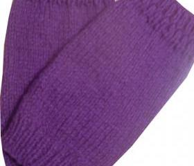 Hand Knitted Baby Leg Warmers